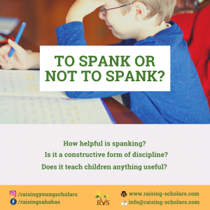 Day 27: To Spank or Not to Spank?